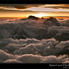 Sunset over Cho Oyu from Everest