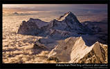 Makalu from Mount Everest after sunrise