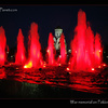Memorial fountains at Poklonnaya Gora, Moscow