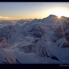 Sunset from Camp 2, Everest