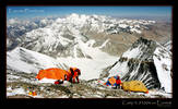 The highest campsite in the world on Everest, Tibet