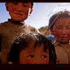 Street kids in Taschi Dzom, Tibet